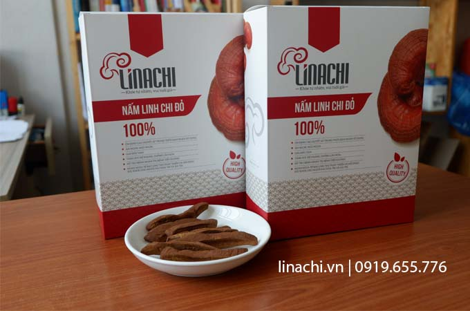 combo 2 hộp nấm linh chi linachi